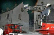 Foto zu Meldung: Alarmübung: 75 Feuerwehrleute im Einsatz