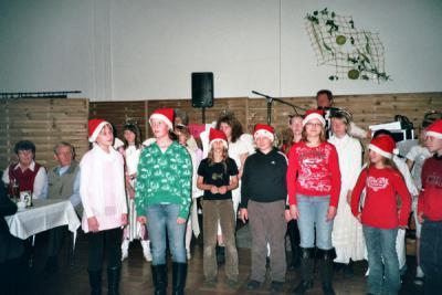 Foto zur Meldung: Gelungener Auftritt zur Rentnerweihnachtsfeier