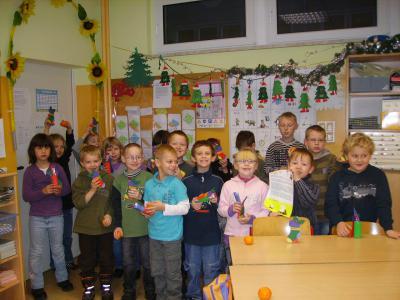 Foto zur Meldung: Weihnachtsprojekt in der Grundschule