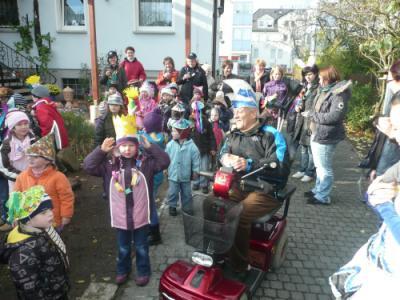 Foto zur Meldung: Günthersdorf wieder fest in närrischer Hand