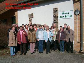 Foto zur Meldung: Gemeindekirchenrat auf Wochenendrüste in Hirschluch
