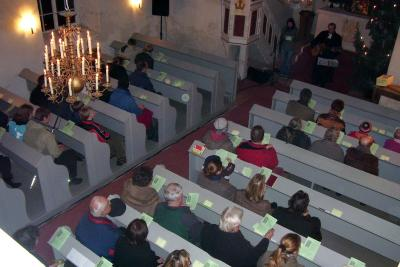 Foto zur Meldung: Jugendgottesdienst am 1. Januar 2008 in Borgisdorf