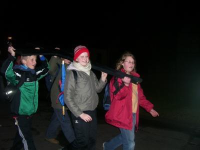 Foto zur Meldung: Ökumenischer Jugendkreuzweg 2008