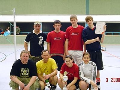 Foto zur Meldung: Auswertung des 5. Volleyballturniers um den Pokal des Bürgermeisters