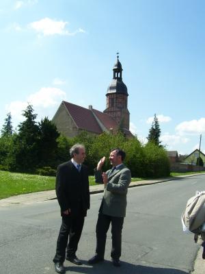 Foto zur Meldung: Besuch aus der Partnergemeinde Ründeroth