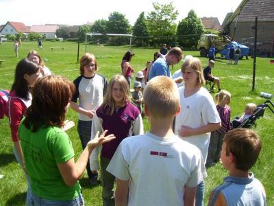 Foto zur Meldung: Olympiade der Evangelischen Kinder- und Jugendarbeit in Langenlipsdorf