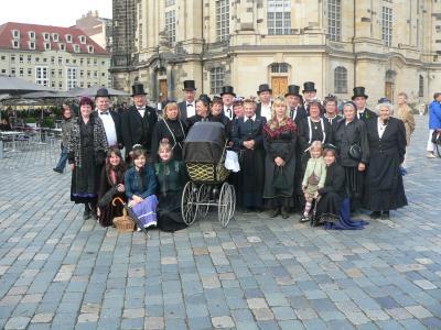Foto zur Meldung: Heimatverein Hirschfeld auf Reise
