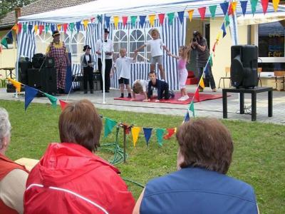 Manege frei  Sommerfest in der Kita Petkus