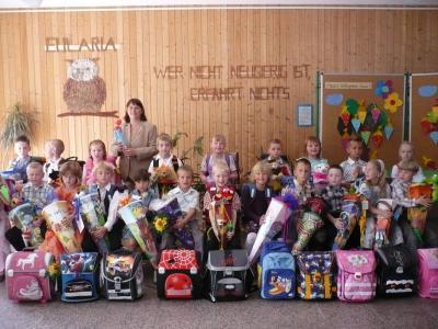 Foto zur Meldung: Willkommen Klasse 1!