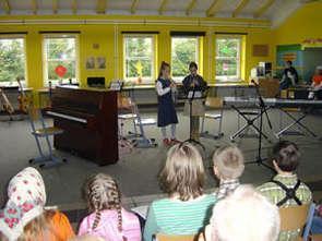 Foto zur Meldung: Schulkonzert in der Grundschule Wöbbelin