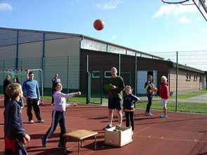Foto zur Meldung: Woche des Sports in der Grundschule Wöbbelin