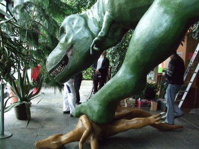 Foto zur Meldung: Große Dinosaurierausstellung ab heute bis zum 1. März