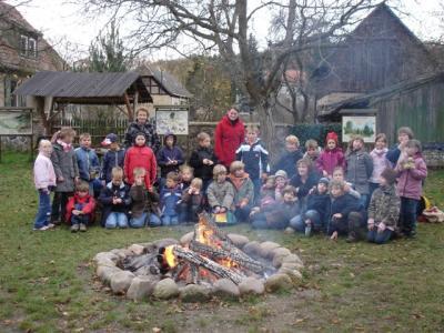 Wir besuchen den Forst-Lehrpfad in Baruth/Mark