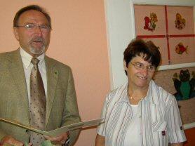 Foto zu Meldung: Kitaleiterin Heidi Städter in den Ruhestand verabschiedet