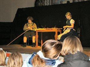 Foto zur Meldung: Hänsel und Gretel begeisterten erneut die Zuhörer