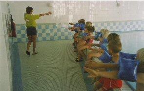 Foto zu Meldung: Dank für den tollen Schwimmunterricht