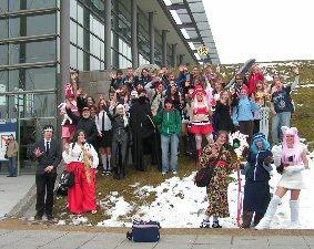 Foto zur Meldung: Eine Reise zu Büchern und Menschen - Kantschüler auf der Leipziger Buchmesse