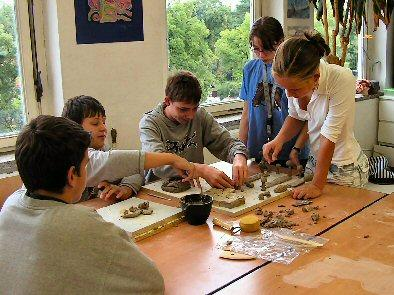 Foto zur Meldung: Methodentraining und mehr - Schuljahresbeginn an der Kantschule