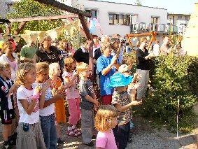 Foto zu Meldung: Danke für ein gelungenes Fest! - Kita Sonnenstrahl feierte 10-jähriges Jubiläum