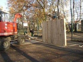 Foto zur Meldung: Neue Tore für den Bolzplatz Coburger Straße