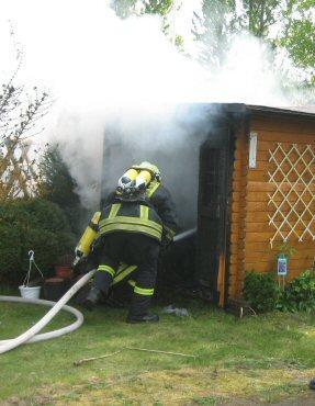 Foto zur Meldung: Feuerwehr im erhöhten Einsatz