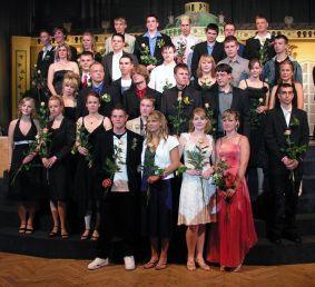 Foto zur Meldung: Die zukünftigen Schülerinnen und Schüler der gymnasialen Oberstufe der Kantschule