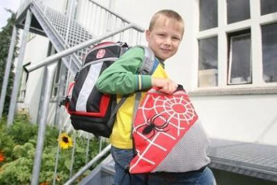 Foto zur Meldung: Schulanfang 2007 - Grundschule Guteborn