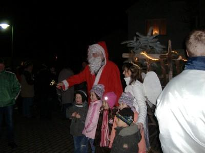 Foto zur Meldung: Viele Gäste beim Weihnachtsevent 2008 in Hirschfeld