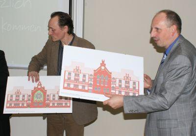 Foto zur Meldung: Einweihung neuer Lehrräume im Hauptgebäude der Hochschule
