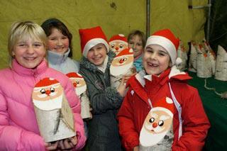 Foto zur Meldung: 2. Kinderweihnachtsmarkt