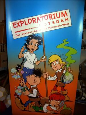 Foto zur Meldung: Spielend lernen - Exploratorium Potsdam