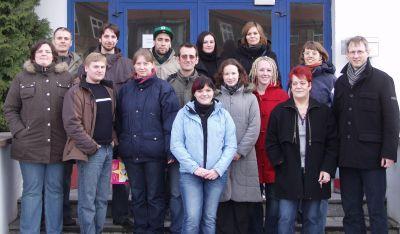 Foto zur Meldung: Studierende der Theologischen Hochschule Friedensau besuchten Justizvollzugsanstalt Brandenburg