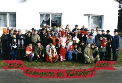 Zempern in Klasdorf