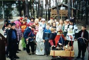Foto zur Meldung: Zampern und Fasching 2003