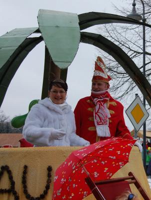 Foto zur Meldung: Karnevals-Umzug mit dem CCC