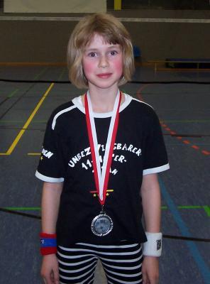 Foto zur Meldung: Erfolgreich eröffneten die jüngsten Tröbitzer Badmintonspieler die Ranglistensaison 2009 des Badminton-Verbandes Berlin-Brandenburg