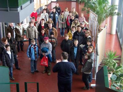 Foto zur Meldung: Tag der offenen Tür in der Robert-Schlesier-Oberschule Calau