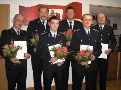 Foto zu Meldung: Jahreshauptversammlung der Freiwilligen Feuerwehr Merzdorf