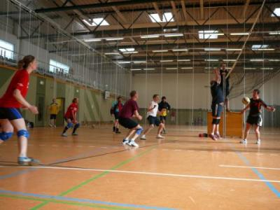 Foto zur Meldung: Mixed Volleyball in Laage