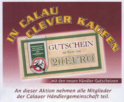 Foto zu Meldung: Neuer Händlergutschein zum Osterfest in Calau