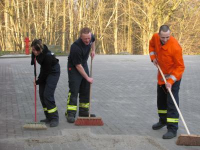 Vorschaubild zur Meldung: Frühjahrsputz der Freiwilligen Feuerwehr Putbus