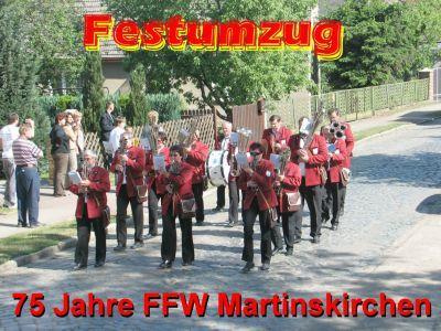 Foto zu Meldung: Jubiläum 75 Jahre Freiwillige Feuerwehr