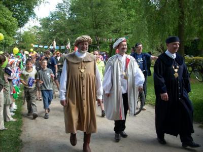 Foto zu Meldung: Tour de Prignitz - Empfang in Meyenburg