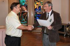 Foto zu Meldung: Er ist der neue Herr über die Falkenseer Finanzen - Ralf Haase übernimmt ab den 1. Juni die Kämmerei