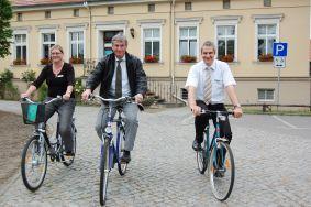 Foto zur Meldung: Mit dem Rad zur Arbeit