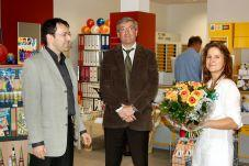 Foto zur Meldung: Neu eröffnet: Postfiliale im Familien- und Gesundheitszentrum - Ehemalige Post geschlossen