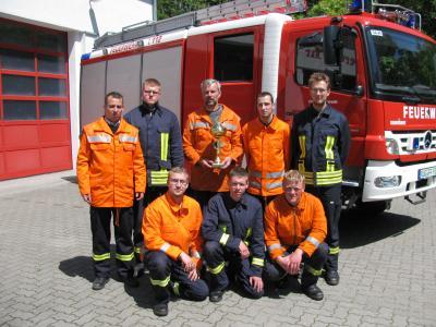 Vorschaubild zur Meldung: Freiwillige Feuerwehr Putbus ist Vize - Kreismeister des Landkreises Rügen