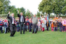Foto zu Meldung: Spiel und Sport frei beim Sportfest der Kindertagesstätten des Kreises
