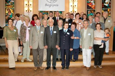 Foto zu Meldung: Verleihung des Bürgerpreises 2009