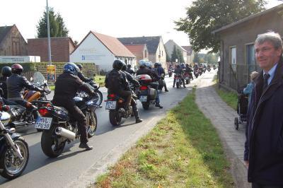 Foto zur Meldung: Bürgermeister-Motorradtour 2009 startet am 13. September